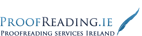 Proofreading Services Ireland